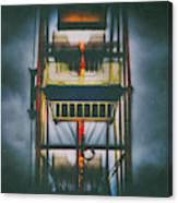 Ride The Ferris Wheel Canvas Print