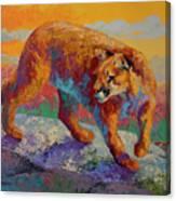 Ridge Cougar Canvas Print