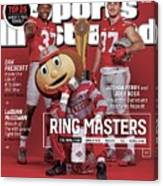 Ring Masters 2015 College Football Preview Issue Sports Illustrated Cover Canvas Print