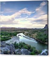 Rio Grand River Canvas Print