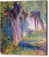 River Epte Giverny 1910  Canvas Print