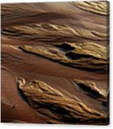 River Of Sand Canvas Print
