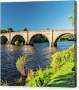 River Tay, Dunkeld, Perthshire Canvas Print