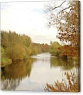 river Teviot at dusk Canvas Print