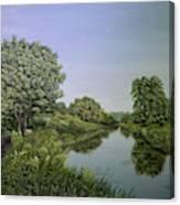 River Wey Canvas Print