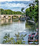 Riverboats Canvas Print
