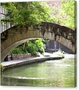 Riverwalk Stone Arch Bridge Canvas Print