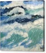 Roaring Ocean Canvas Print