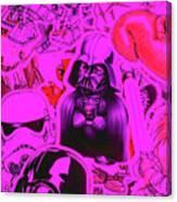 Robotic Rebellion Canvas Print