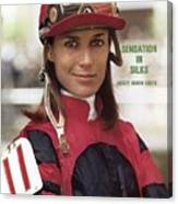 Robyn Smith, Horse Racing Jockey Sports Illustrated Cover Canvas Print