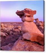 Rock Formations, Bisti Badlands, New Canvas Print