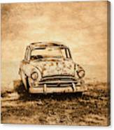 Rockabilly Relic Canvas Print