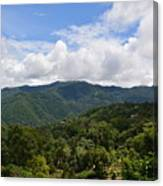 Rolling Hills, Open Sky Canvas Print