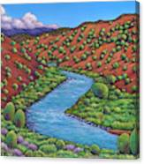 Rolling Rio Grande Canvas Print