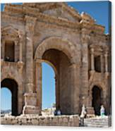 Roman Arched Entry Canvas Print