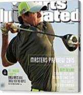 Rorys Moment 2014 British Open Sports Illustrated Cover Canvas Print