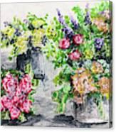 Rose Bundles Canvas Print