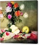 Rosy Pallet Canvas Print