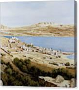 rovine a Tiberiade Canvas Print