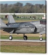 Royal Air Force F-35b At Raf Marham Canvas Print
