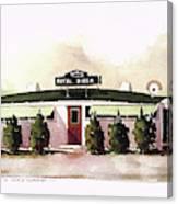 Royal Diner Canvas Print