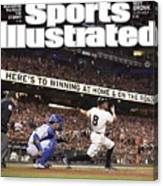 Royals Vs. Giants The Future Classic Sports Illustrated Cover Canvas Print