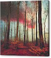 Ruby Red Evening Canvas Print