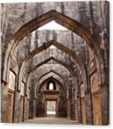 Ruins Of Afghan Architecture In Mandu Canvas Print