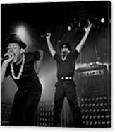 Run Dmc Live In Concert Canvas Print
