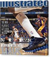 Running With The Mavs How Dallas Took Down The Mighty Lakers Sports Illustrated Cover Canvas Print