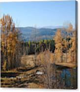 Rural Montana Canvas Print
