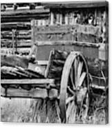 Rustic Horse Drawn Cart Canvas Print