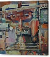 Rusty Engine  Canvas Print