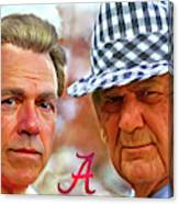 Saban And Bear Canvas Print