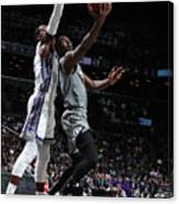 Sacramento Kings V Brooklyn Nets Canvas Print