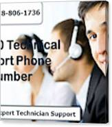 Sage Customer Support Number Usa  Canvas Print