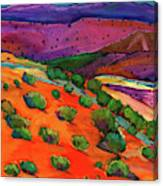 Sage Slopes Canvas Print