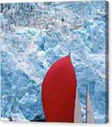 Sailboat Prince William Sound Alaska Canvas Print