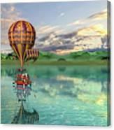 Sailing Away Daydream Steampunk Custom Canvas Print