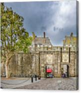 Saint-malo Gates Canvas Print