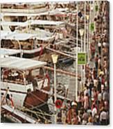 Saint-tropez Seafront Canvas Print