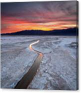 Salt Creek Flats Canvas Print