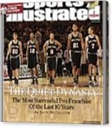 San Antonio Spurs Sports Illustrated Cover Canvas Print