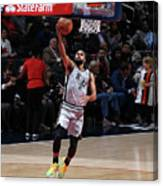 San Antonio Spurs V Washington Wizards Canvas Print
