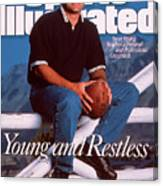 San Francisco 49ers Qb Steve Young Sports Illustrated Cover Canvas Print