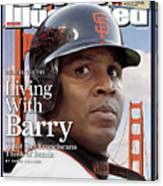San Francisco Giants Barry Bonds Sports Illustrated Cover Canvas Print