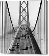 San Francisco-oakland Bay Bridge Canvas Print