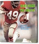 San Fransisco 49ers Earl Cooper Sports Illustrated Cover Canvas Print