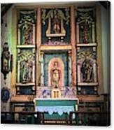 San Gabriel Mission No. 2, High Altar Canvas Print