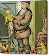 Santa Toys Canvas Print